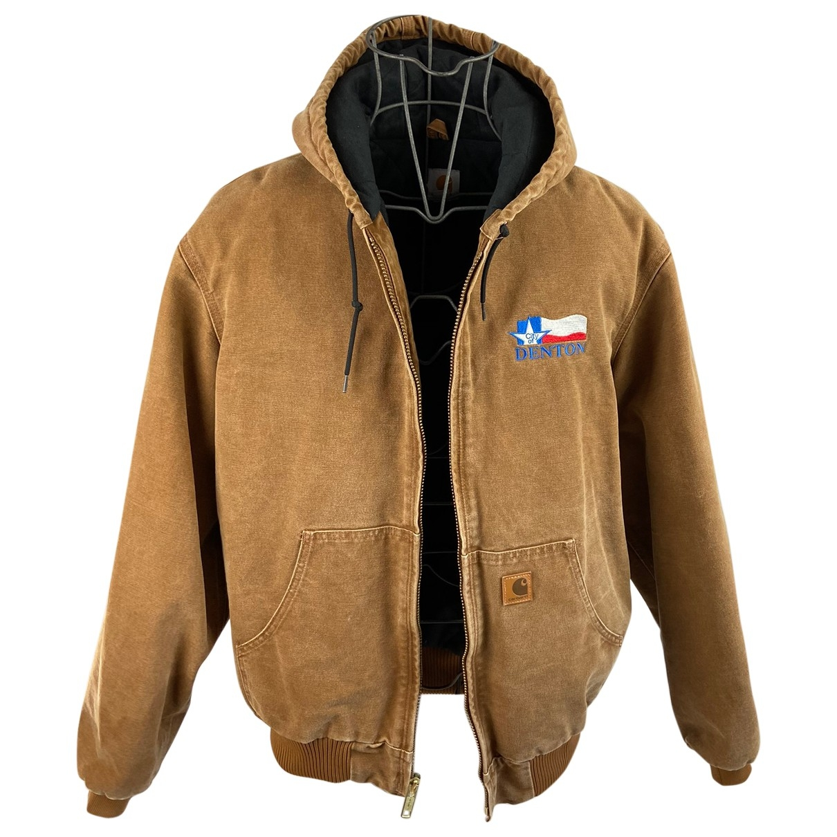 Carhartt \N Camel Cotton jacket  for Men 50 IT