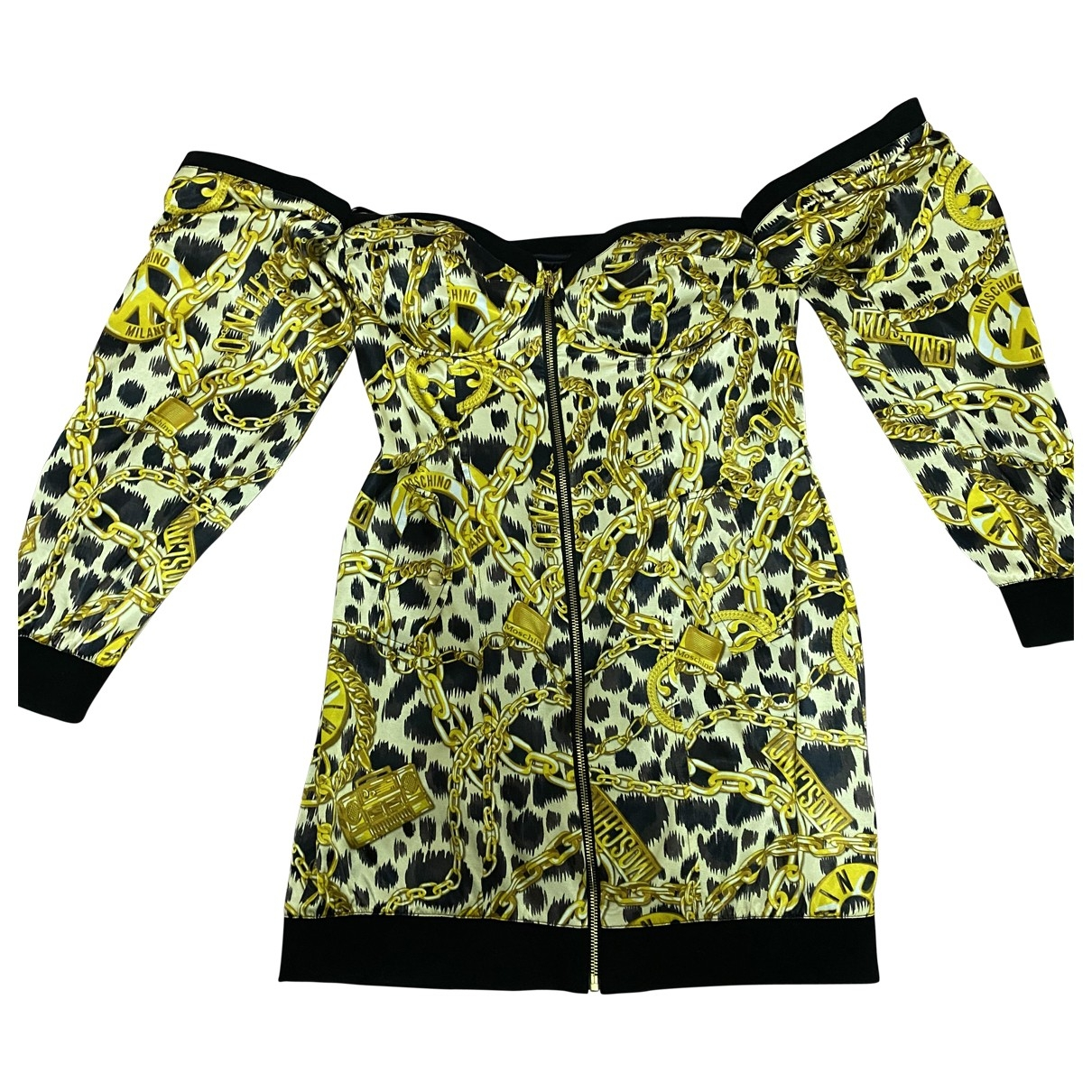 Moschino For H&m \N Kleid in  Bunt Baumwolle - Elasthan