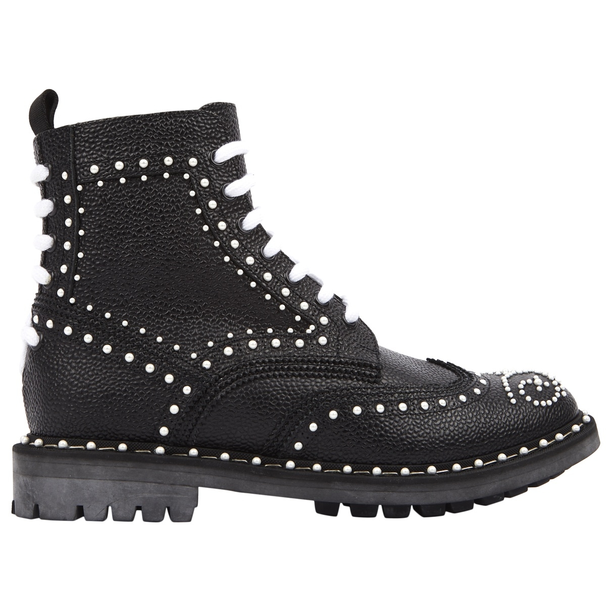 Givenchy \N Black Leather Ankle boots for Women 39 EU