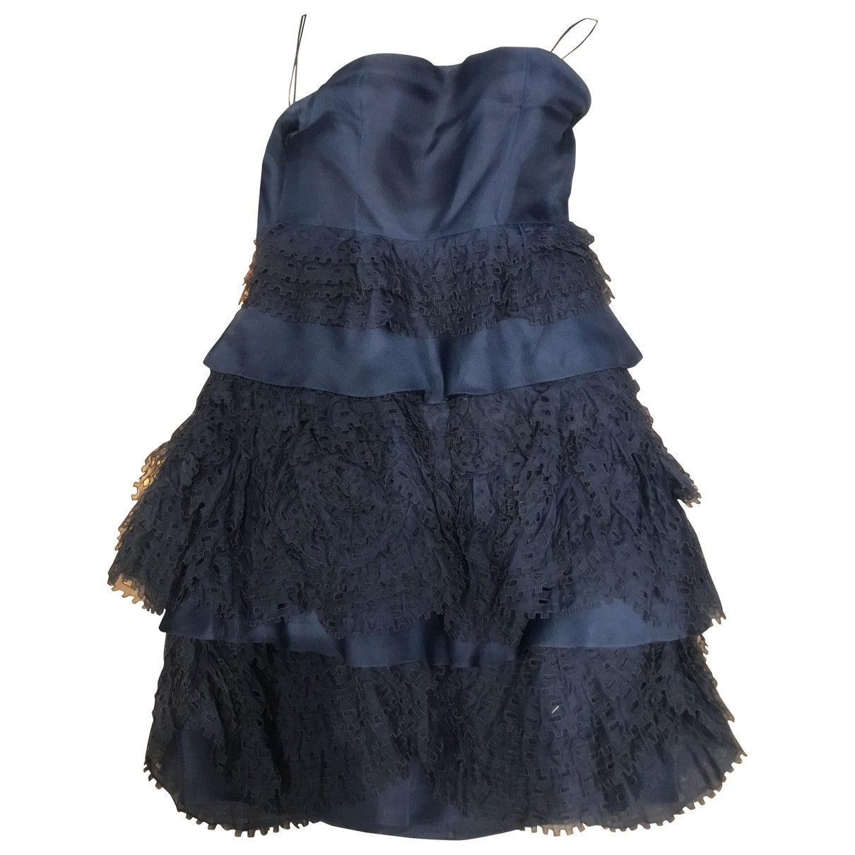 Valentino Garavani \N Blue Silk dress for Women XS International