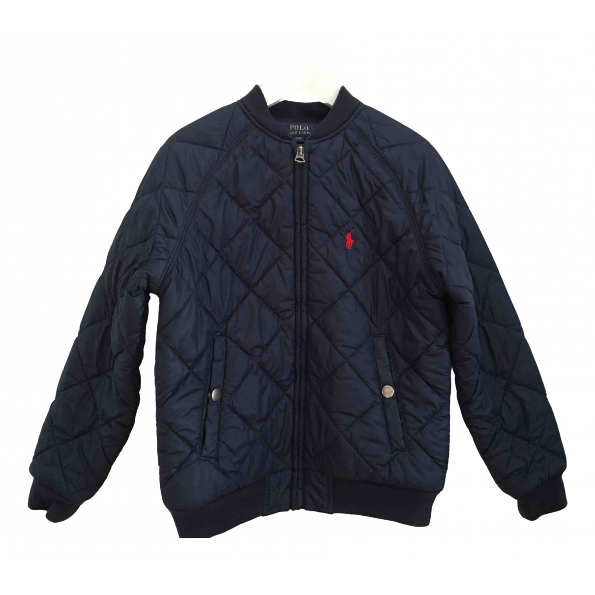 Polo Ralph Lauren \N Jacke, Maentel in  Blau Polyester