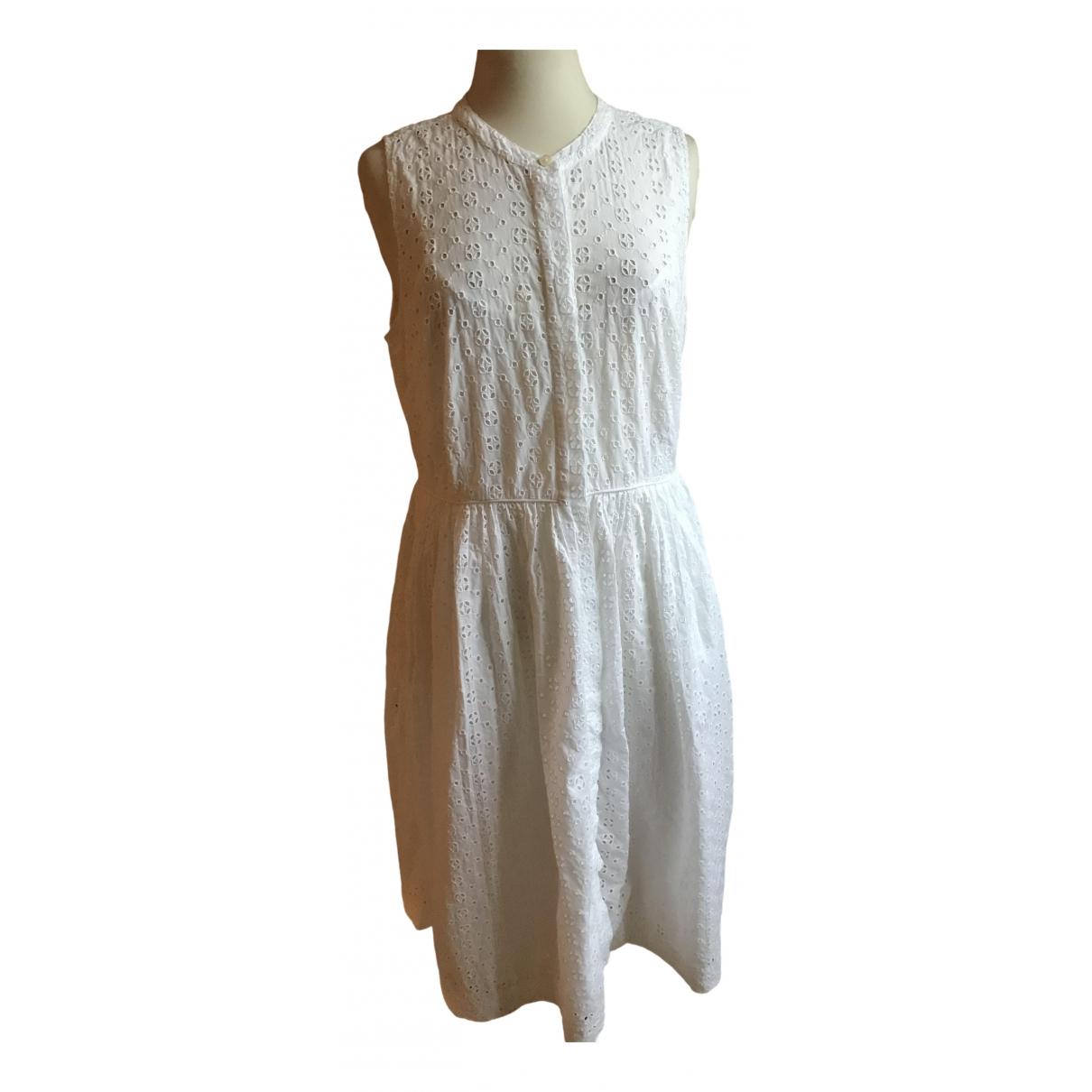 J.crew - Robe   pour femme en coton - blanc