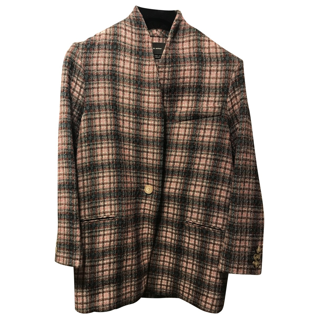 Isabel Marant \N Pink Wool jacket for Women 34 FR