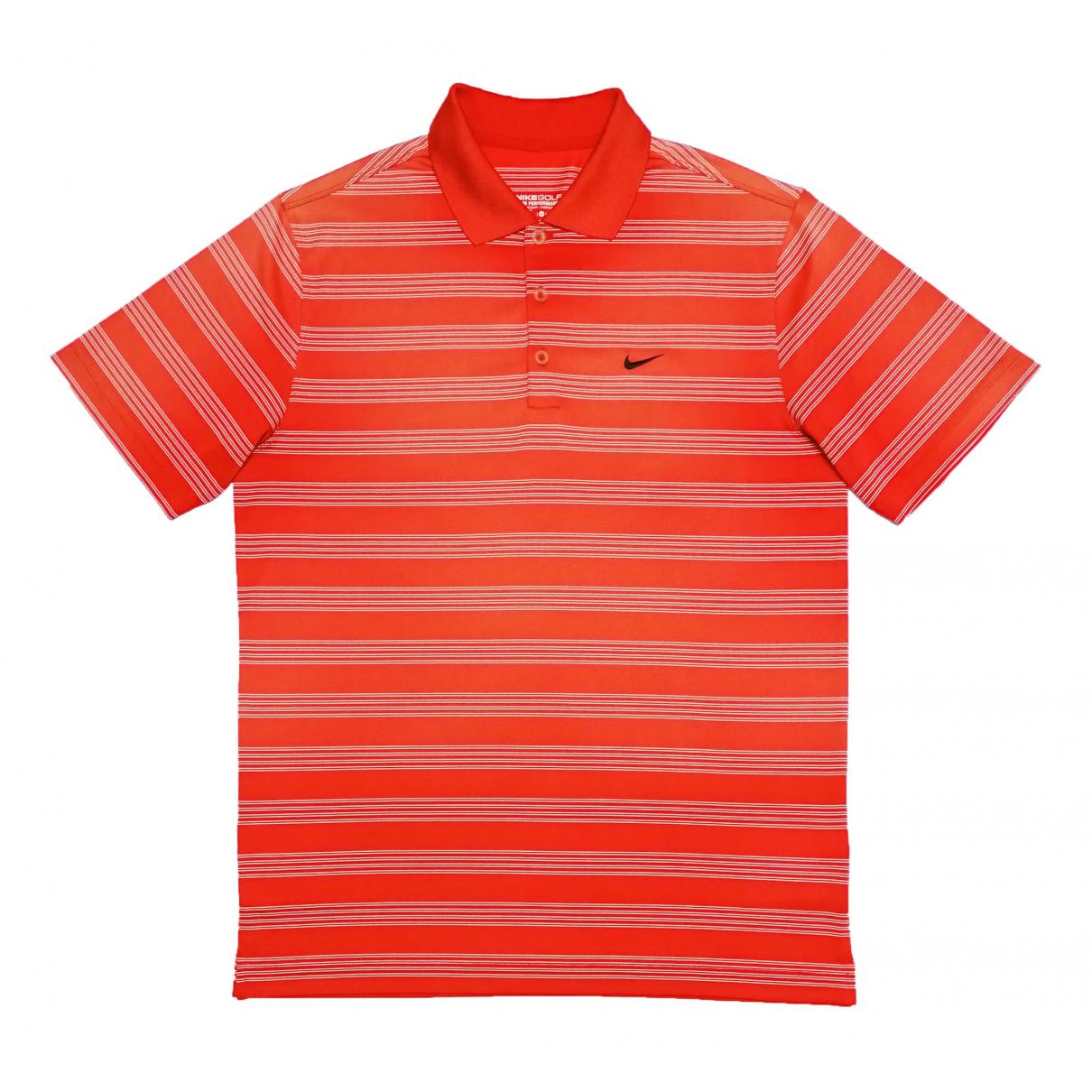 Nike \N Poloshirts in  Orange Polyester