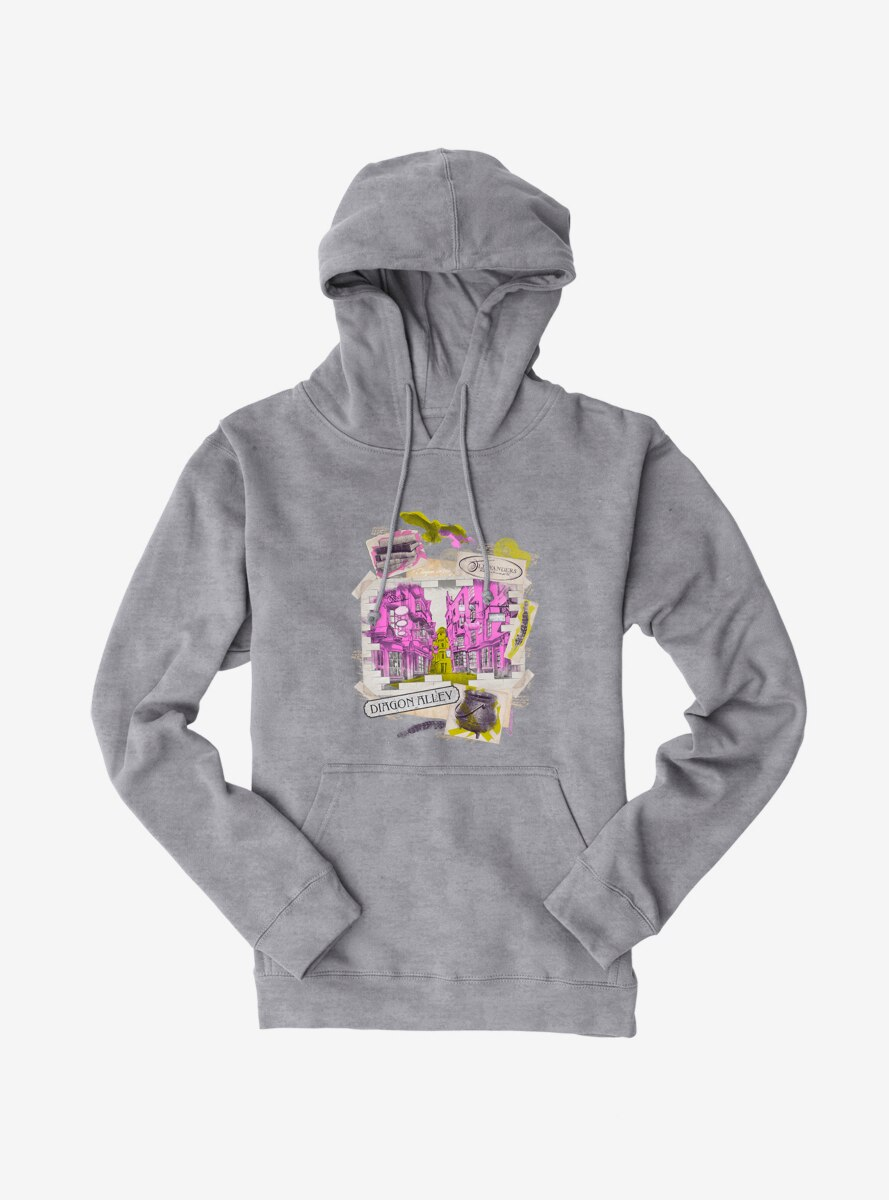Harry Potter Diagon Alley Collage Hoodie