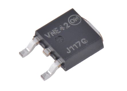 ON Semiconductor ON Semi MJD117G PNP Darlington Pair, 2 A 100 V HFE:1000, 3-Pin DPAK (15)