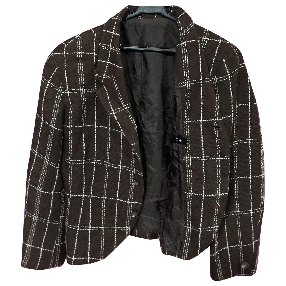 Yohji Yamamoto - Veste   pour femme en cachemire - marron