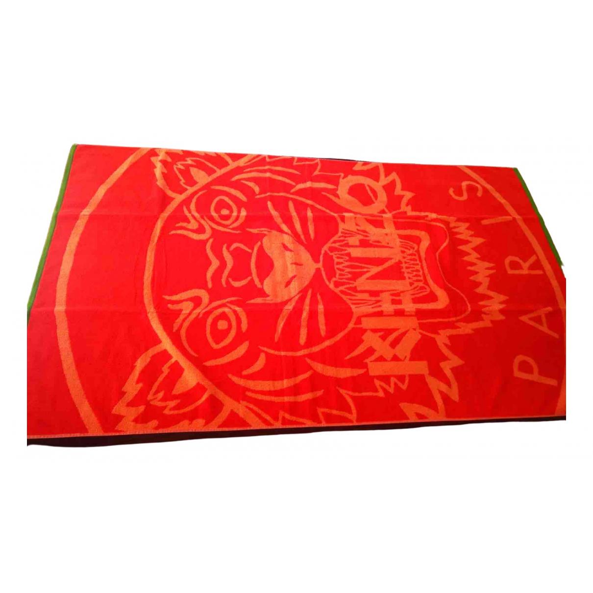 Kenzo - Linge de maison   pour lifestyle en coton - orange