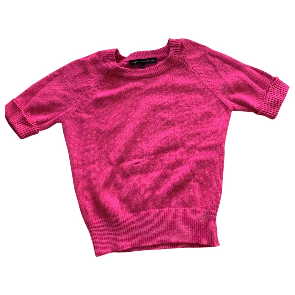 French Connection \N Pullover in  Rosa Viskose