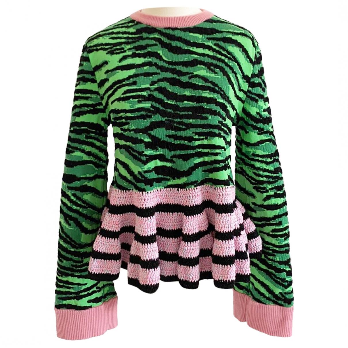 Kenzo X H&m \N Green Cotton Knitwear for Women S International