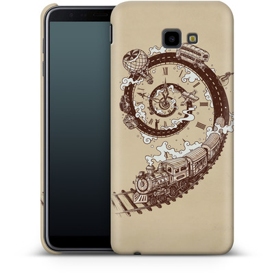 Samsung Galaxy J4 Plus Smartphone Huelle - Time Travel von Enkel Dika