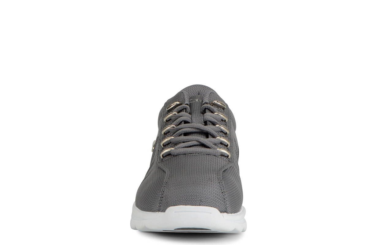 Men's Changeover II Ballistic Oxford Sneaker (Choose Your Color: CHARCOAL/WHITE, Choose Your Size: 12.0)