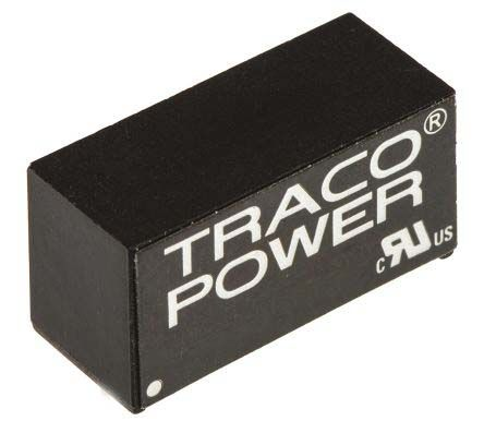 TRACOPOWER TMR 2 2W Isolated DC-DC Converter Through Hole, Voltage in 9 → 18 V dc, Voltage out 5V dc