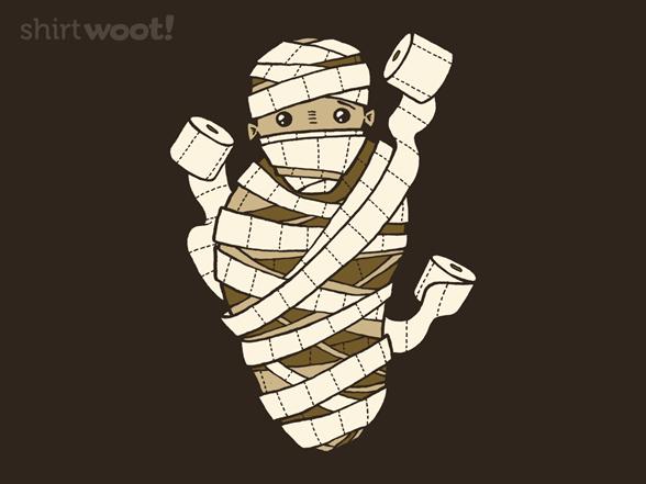 Halloween Mummy T Shirt