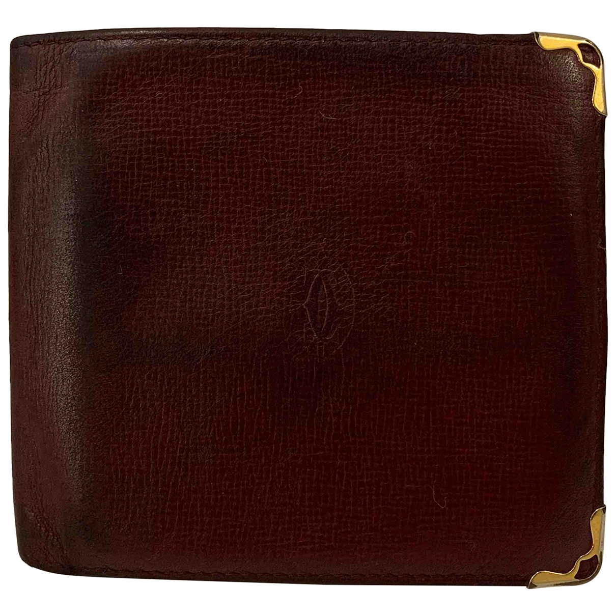 Cartier \N Leather Small bag, wallet & cases for Men \N