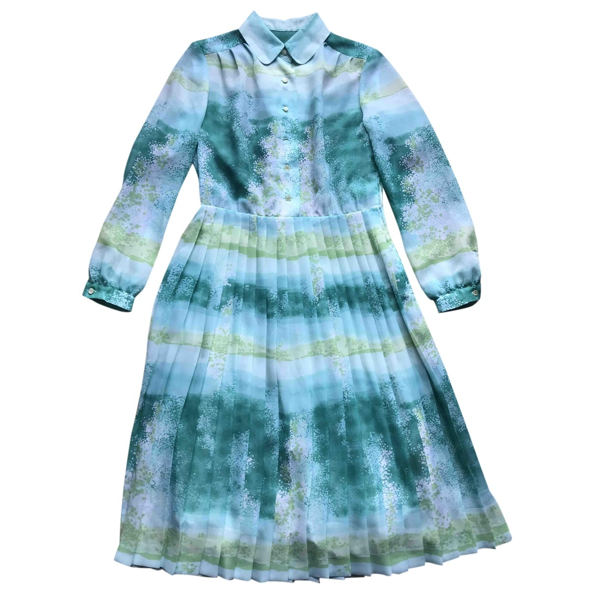 Non Signé / Unsigned Hippie Chic Multicolour dress for Women 38 FR