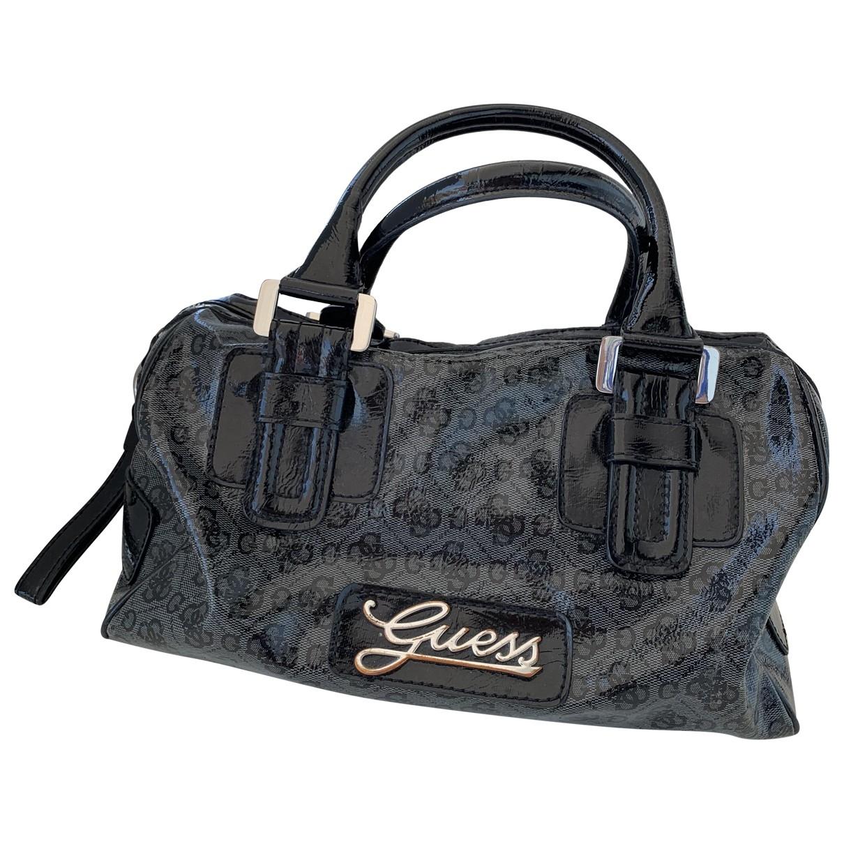 Guess X Sean Wotherspoon \N Handtasche in  Schwarz Kunststoff