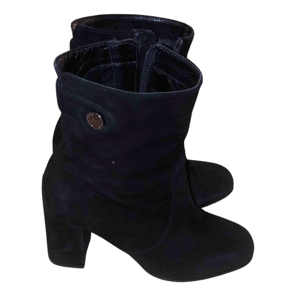 Kennel Und Schmenger N Black Leather Ankle boots for Women 36.5 EU