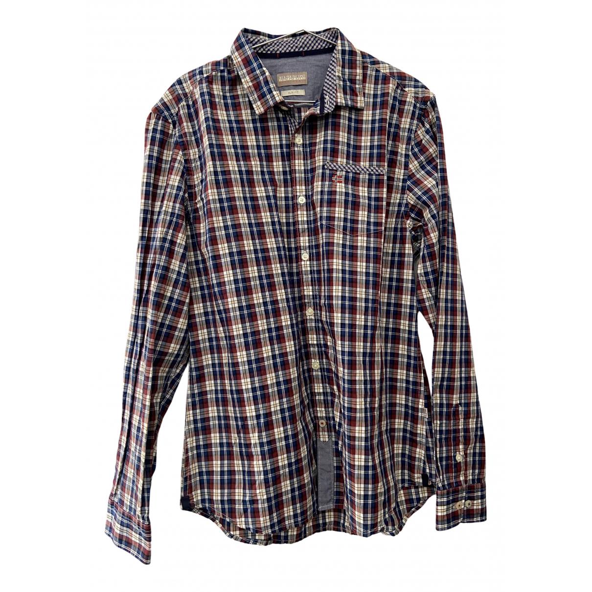 Napapijri - Chemises   pour homme en coton - multicolore