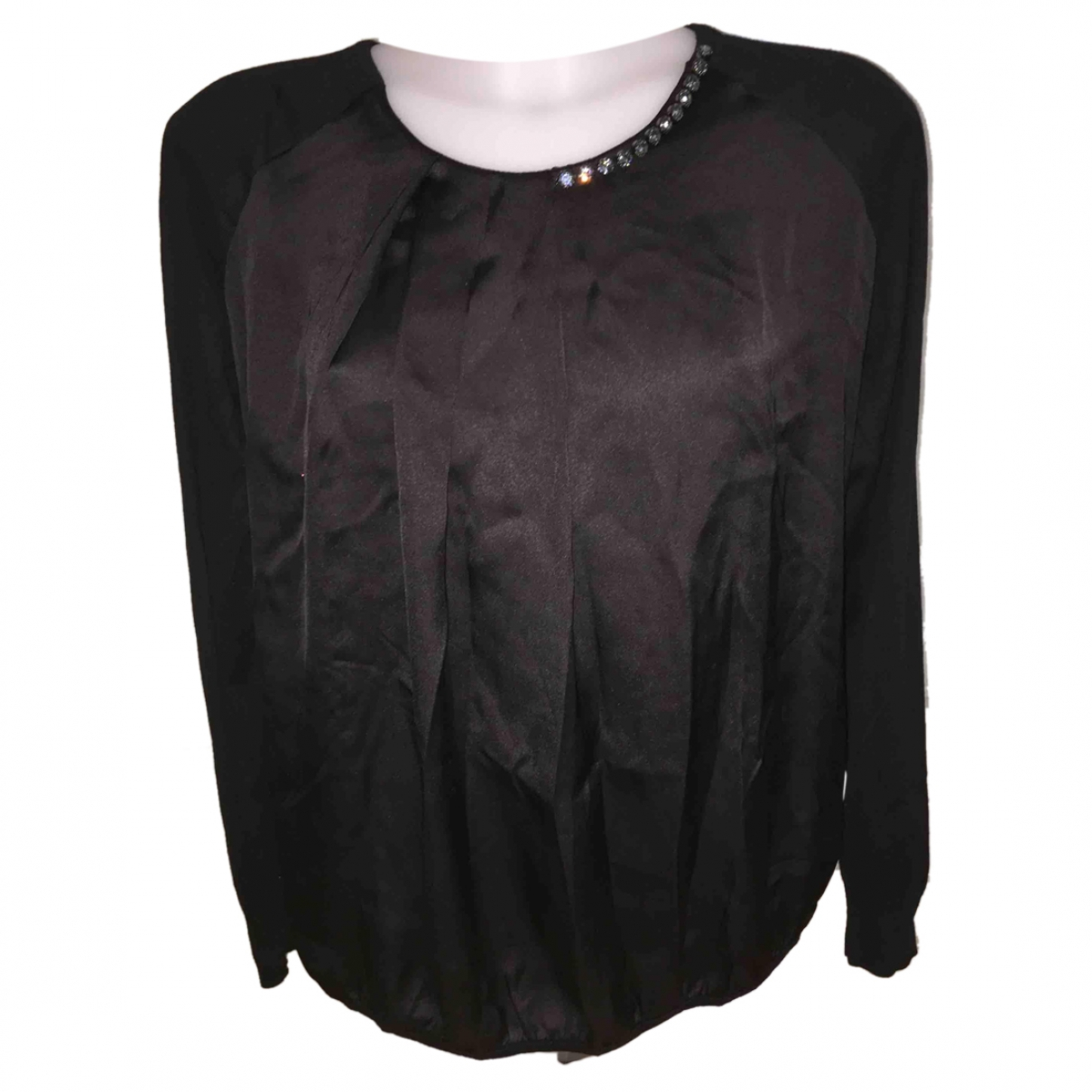 Liu.jo - Pull   pour femme en laine - noir