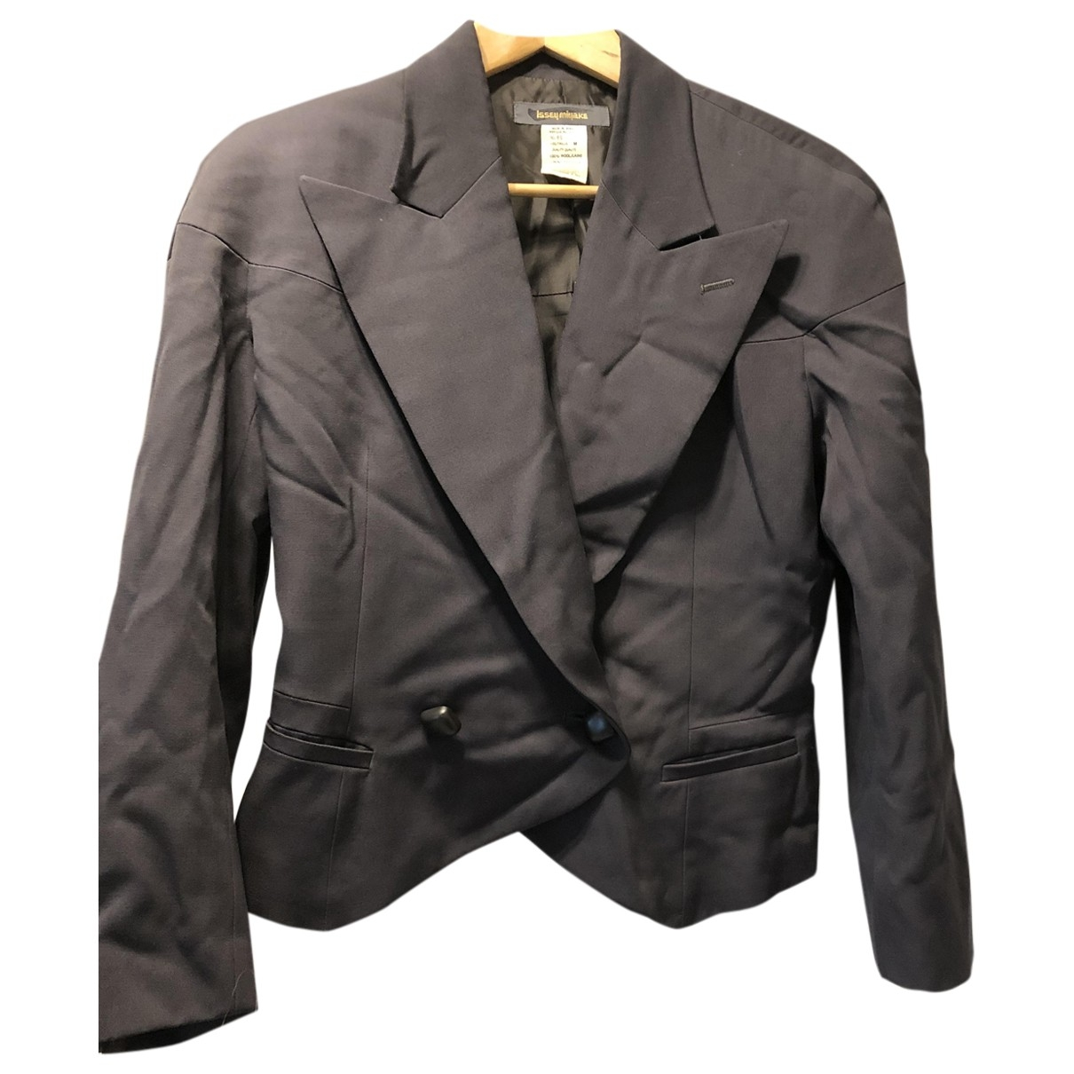 Issey Miyake \N Grey Wool jacket for Women M International