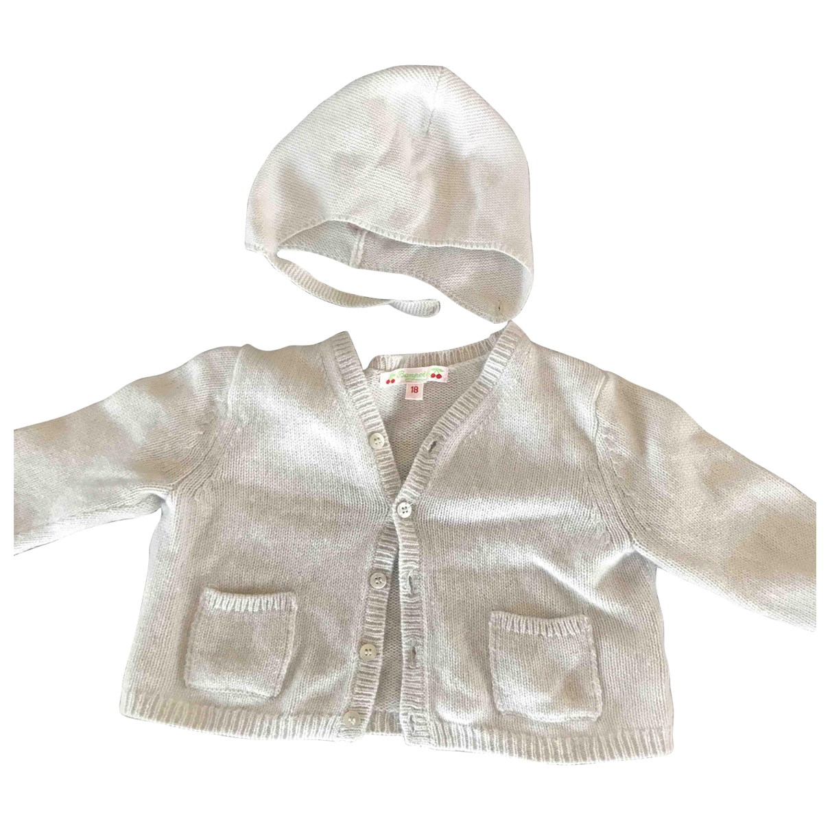 Bonpoint \N White Cashmere Outfits for Kids 18 months - up to 81cm FR