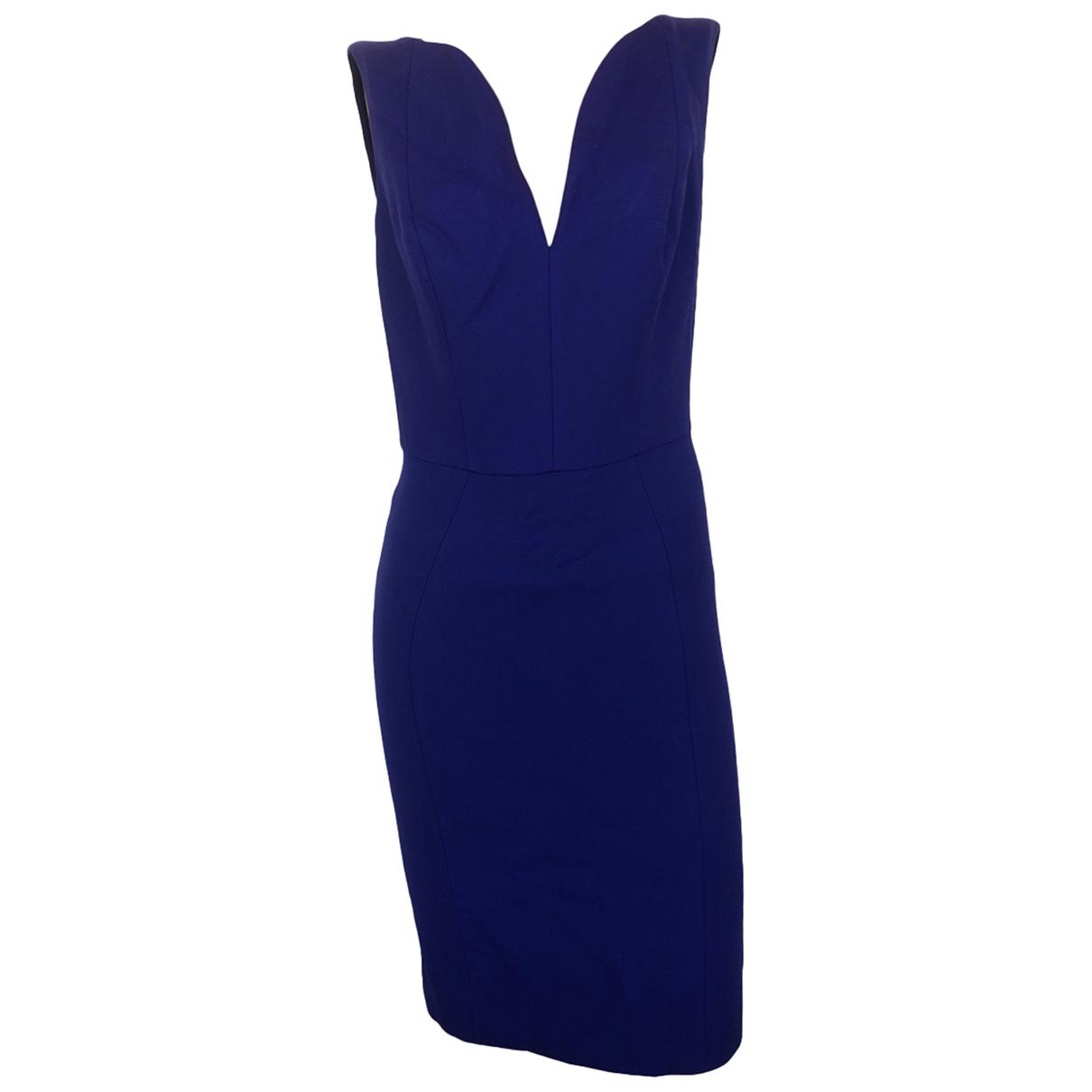 Dior - Robe   pour femme en laine - marine