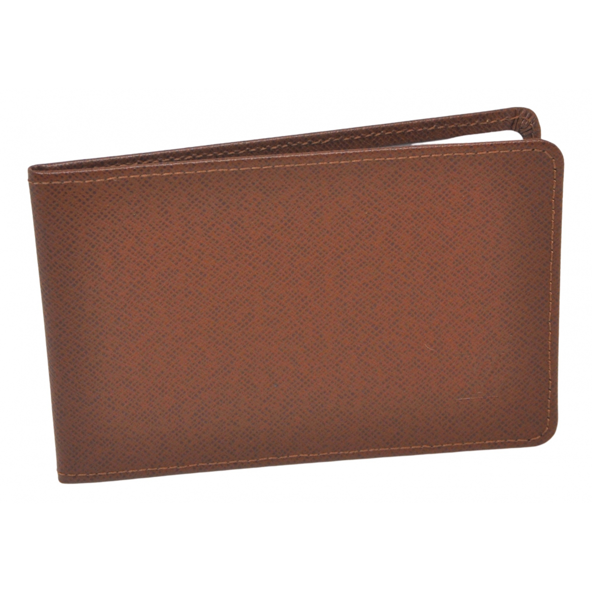 Louis Vuitton \N Brown Leather Small bag, wallet & cases for Men \N