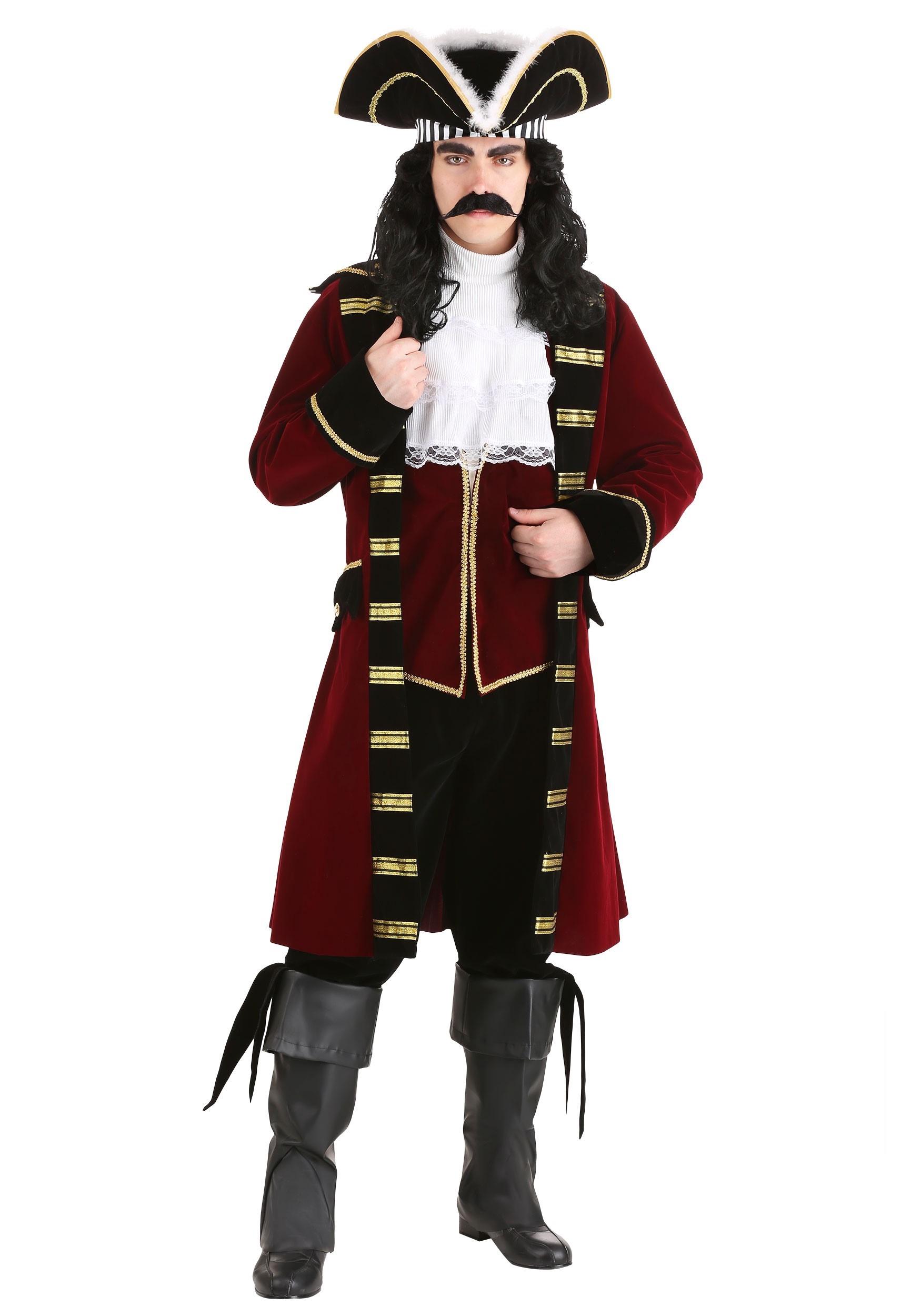 Deluxe Captain Hook Costume | Mens Pirate Costume | Exclusive