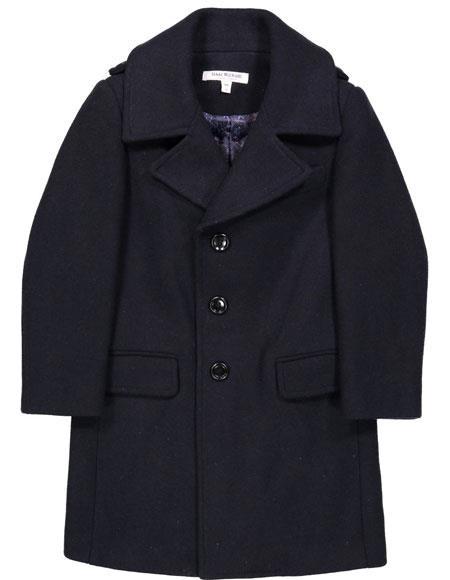 Boys ~ Children ~ Kids Toddler Outerwear Navy Coat