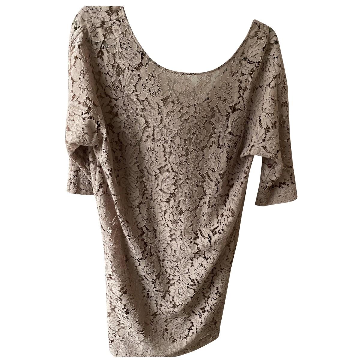 By Malene Birger \N Kleid in  Rosa Baumwolle