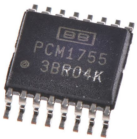 Texas Instruments TCA9554ADBR, 8-Channel I/O Expander 100 (Standard) kHz, 400 (Fast) kHz, I2C, Parallel, 16-Pin SSOP (5)