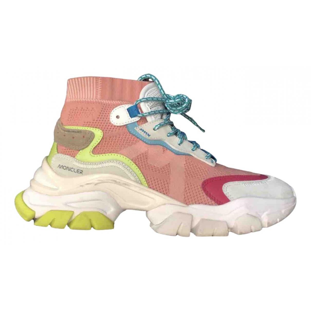 Moncler \N Sneakers in  Bunt Leder