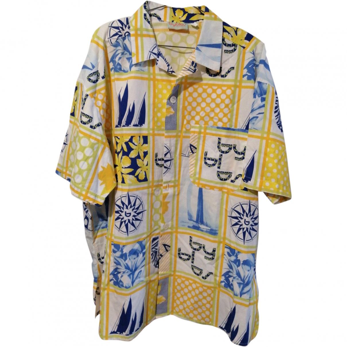 Byblos \N Multicolour Cotton Shirts for Men XL International