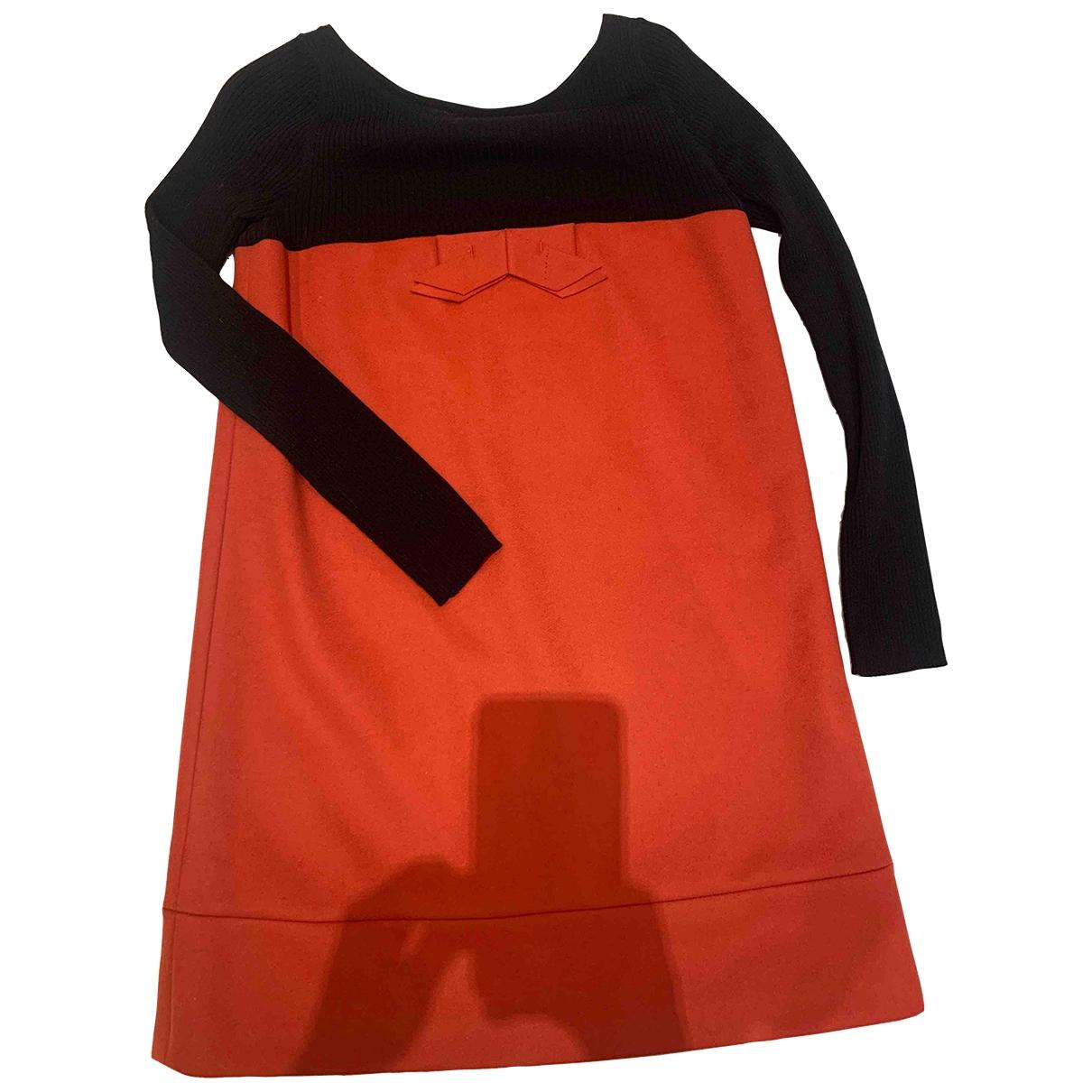 Paule Ka \N Kleid in  Bunt Wolle