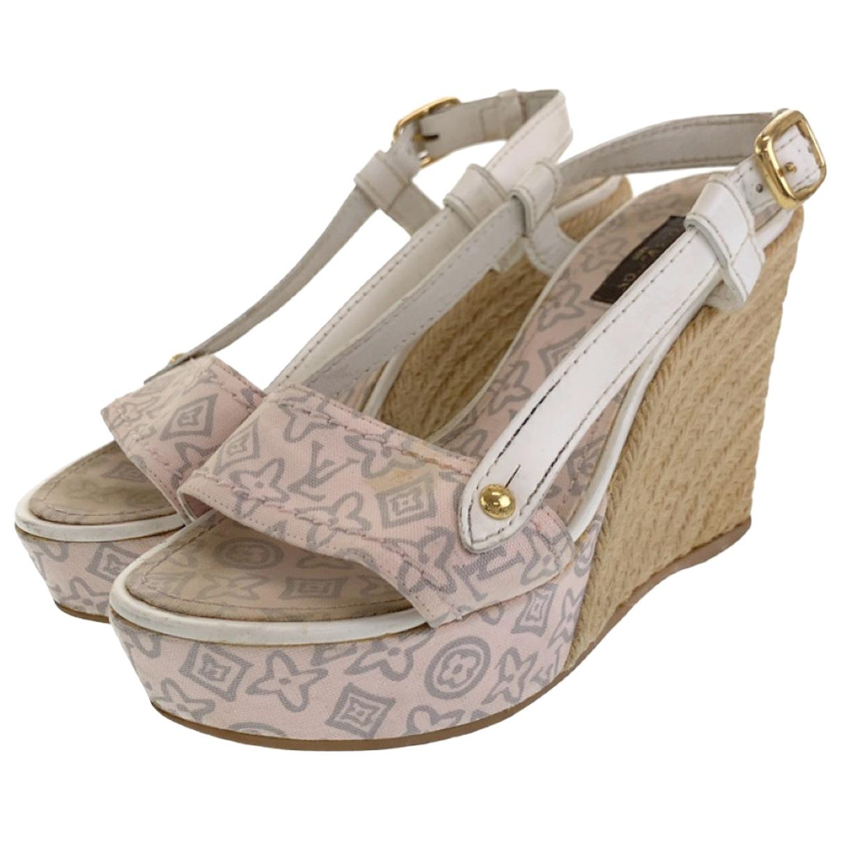 Sandalias de Cuero Louis Vuitton
