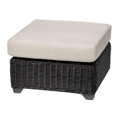 TKC050b-O-BEIGE Venice Ottoman with 2 Covers: Wheat and