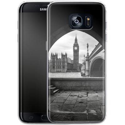 Samsung Galaxy S7 Edge Silikon Handyhuelle - Houses Of Parliament von Ronya Galka
