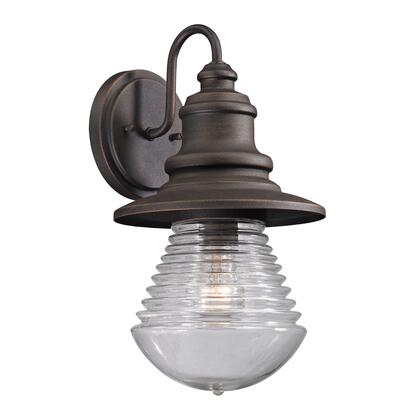 47045/1 Westport Collection 1 Light outdoor Sconce in Weathered