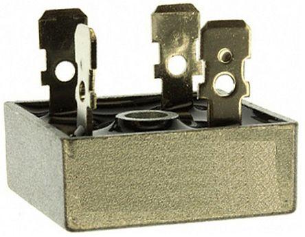 HY Electronic Corp KBPC3506, Bridge Rectifier, 35A 600V, 4-Pin KBPC (10)