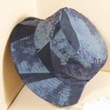 Men Stitching Bucket Hat