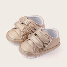 Baby Jungen Sneakers mit Klettverschluss