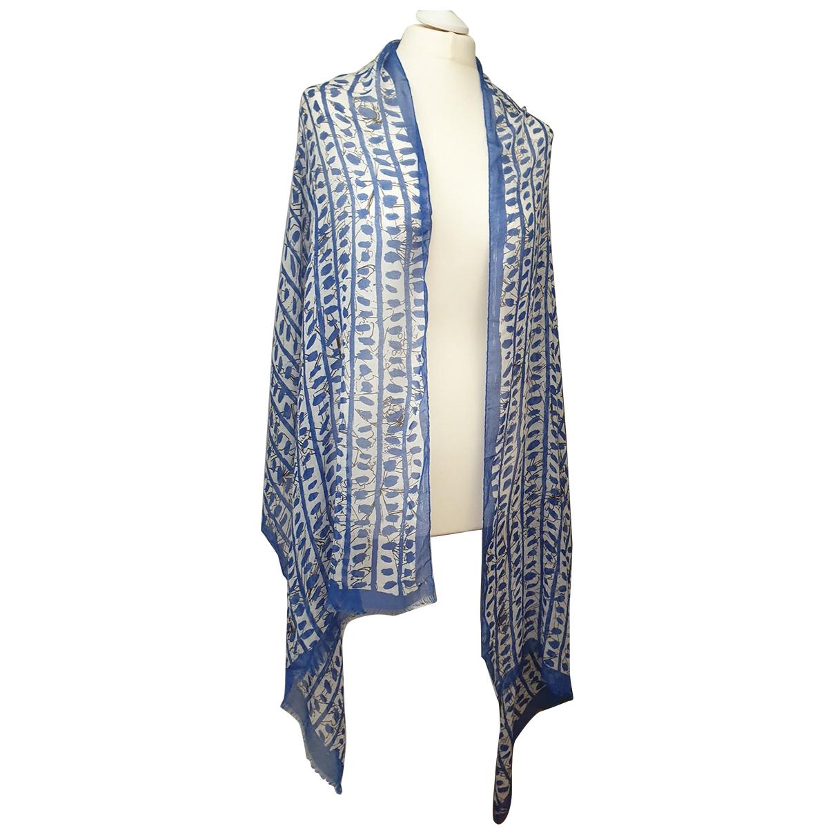 Escada \N Blue scarf for Women \N