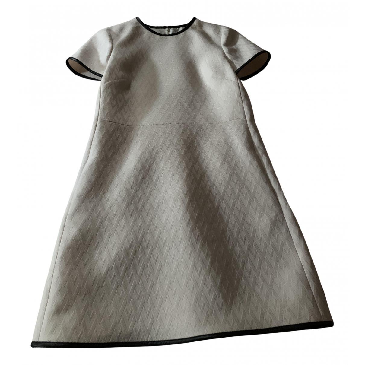Valentino Garavani - Robe   pour femme en laine - beige