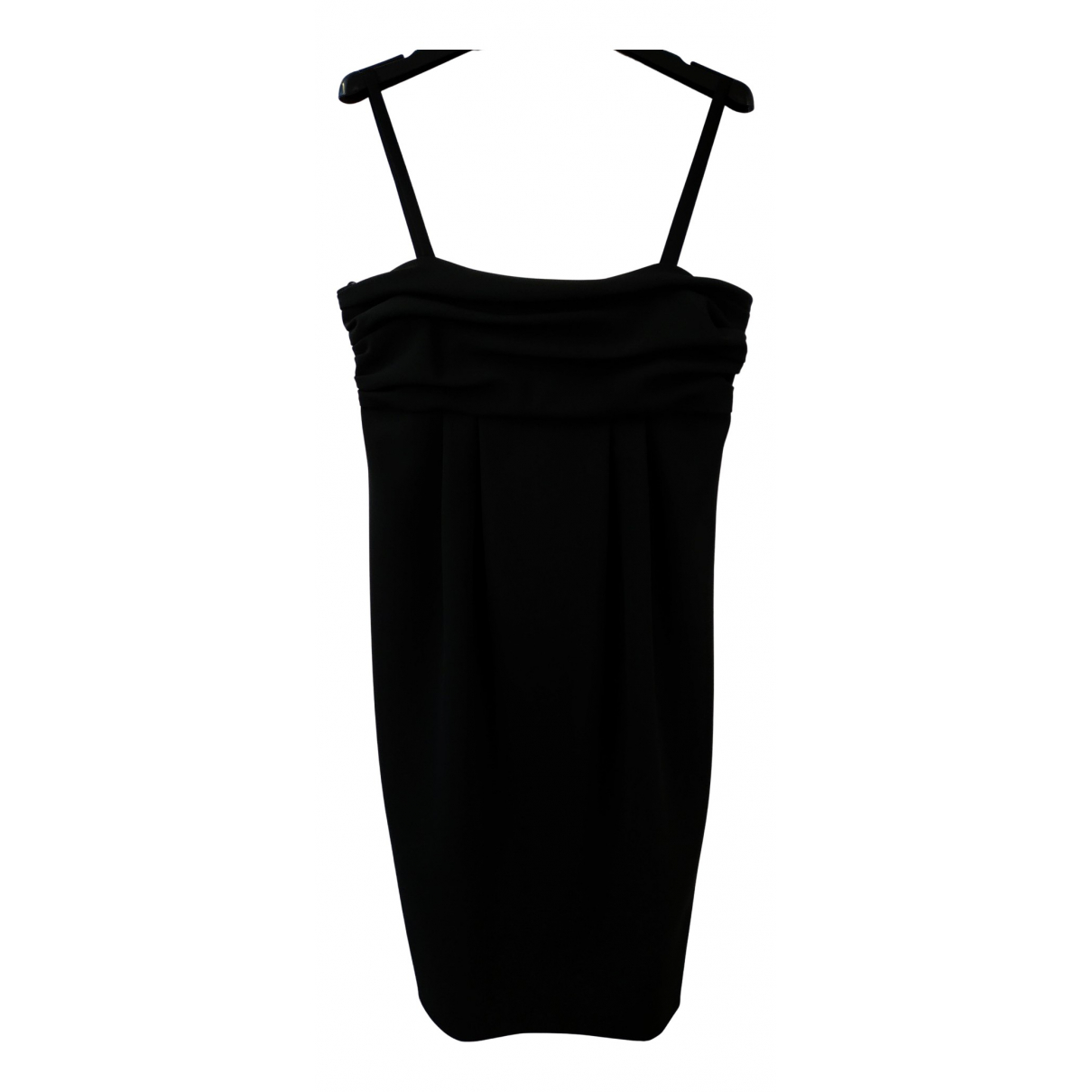 Moschino Cheap And Chic \N Kleid in  Schwarz Synthetik