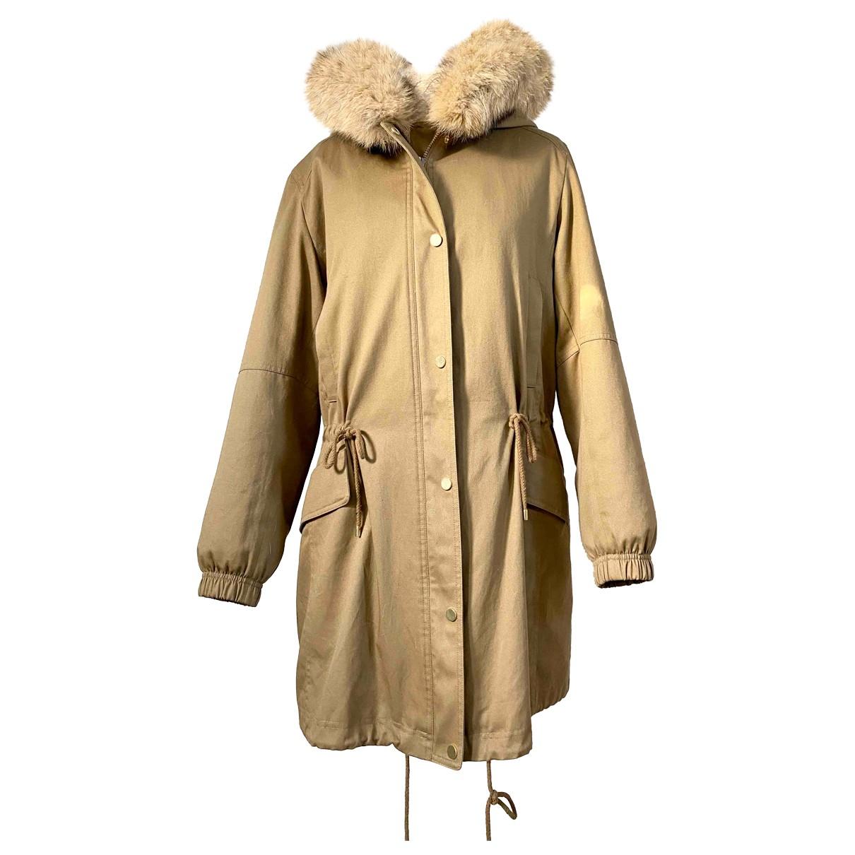 Vince N Camel Rabbit coat for Women M International