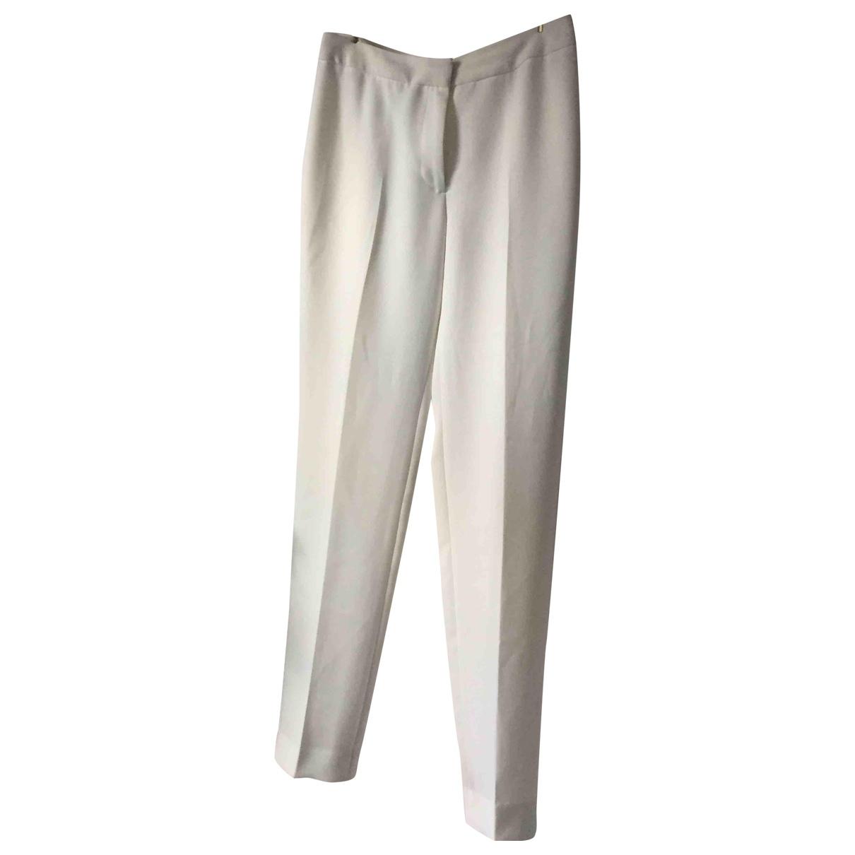 Reiss \N White Trousers for Women 8 UK