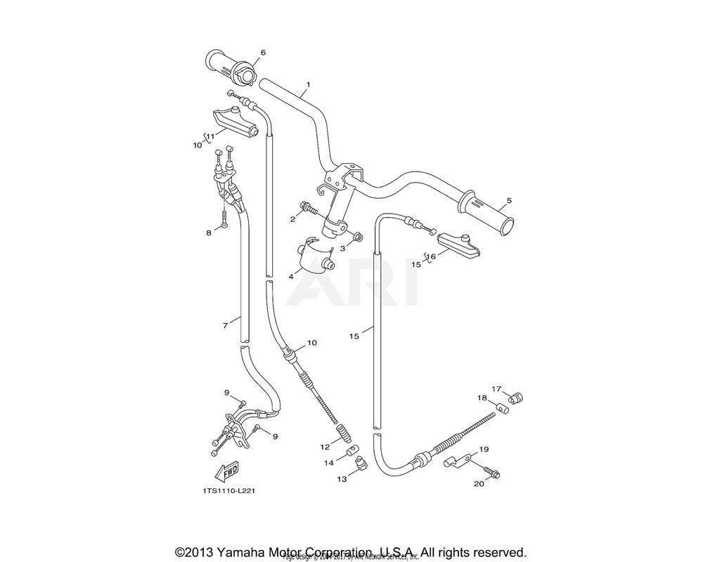 Yamaha OEM 5ST-F639F-00-00 HOLDER 2
