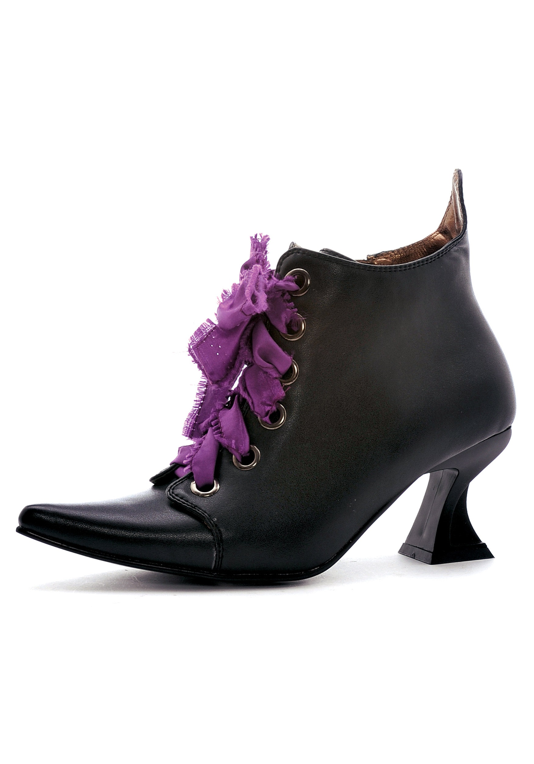 Lace Up Women's Witch Costume Shoes