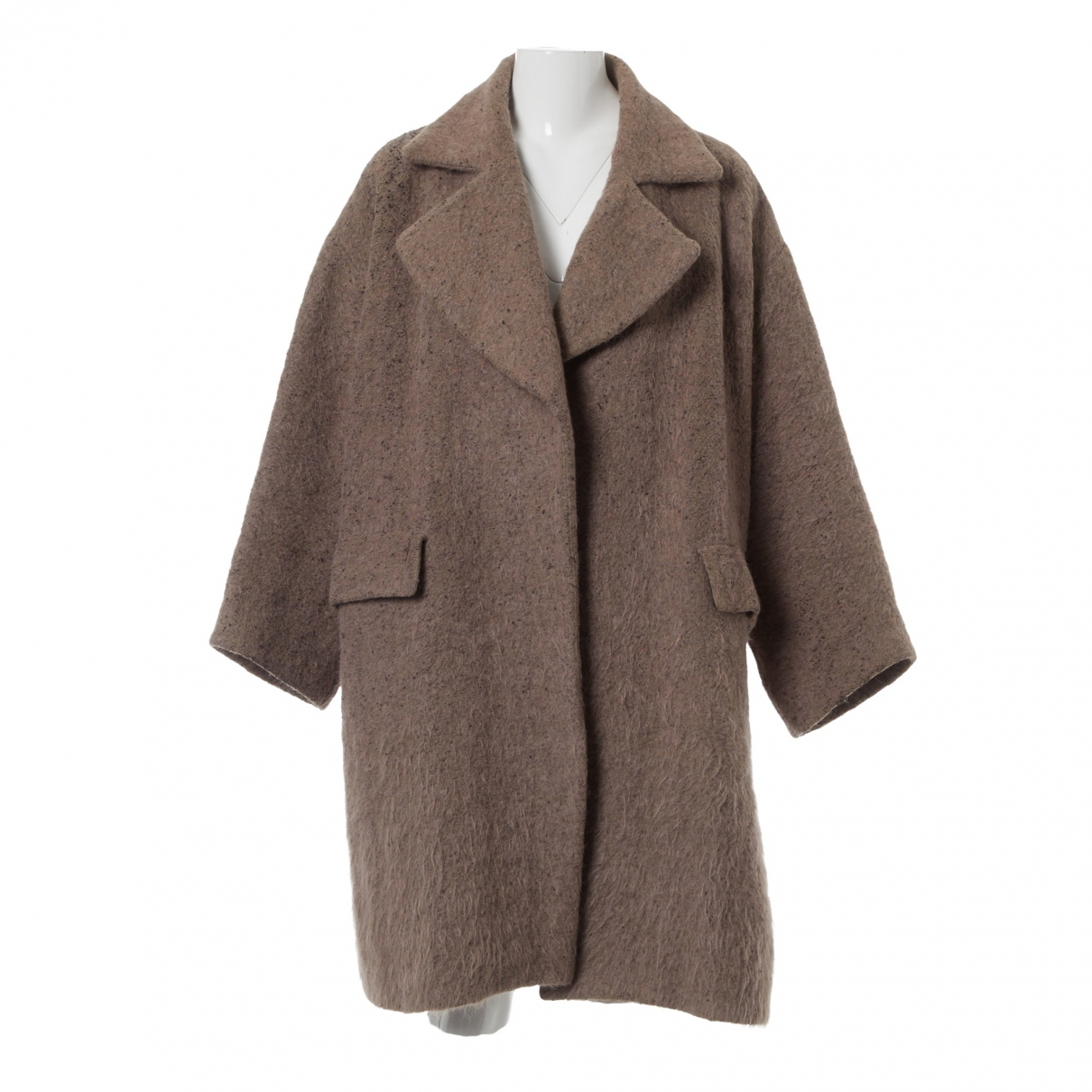 Dries Van Noten \N Beige Wool coat for Women M International